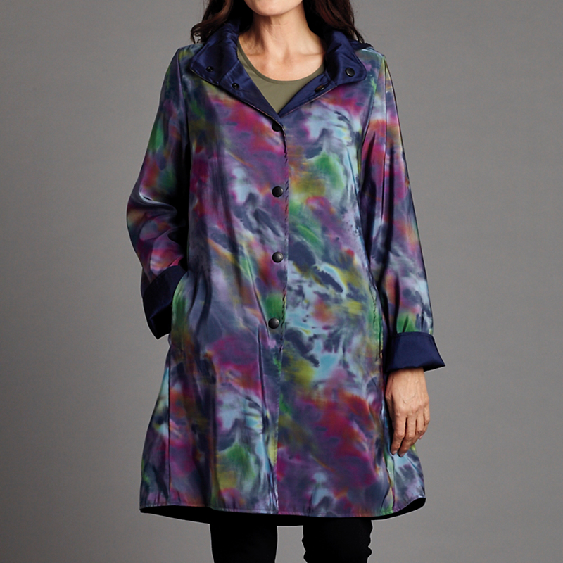 Simone Reversible Raincoat
