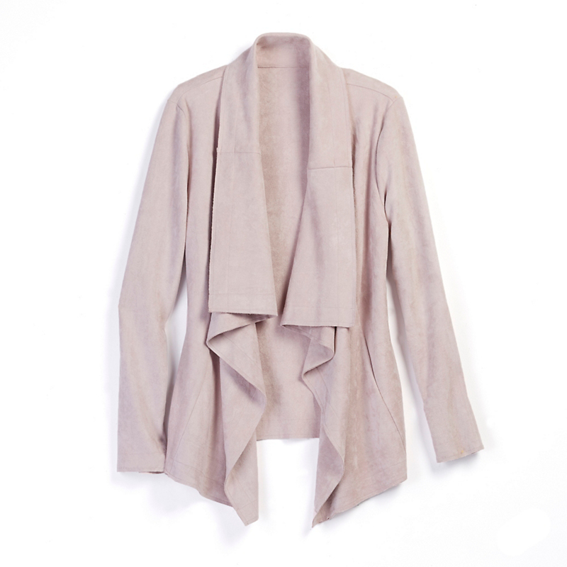 Arabella Faux Suede Jacket