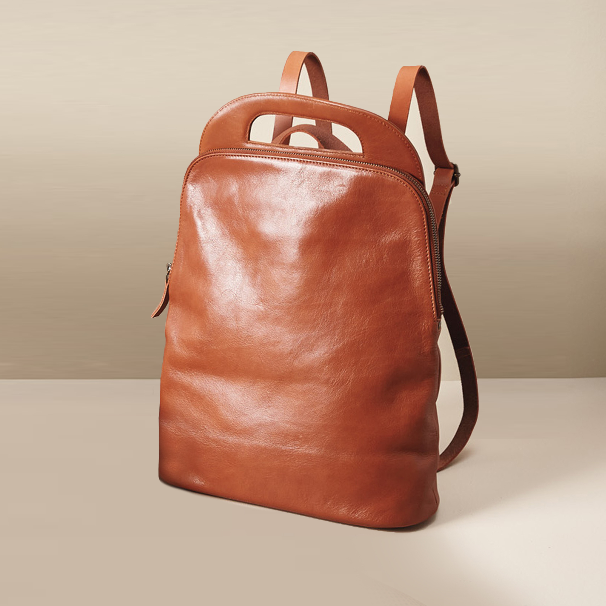 Forde Leather Backpack