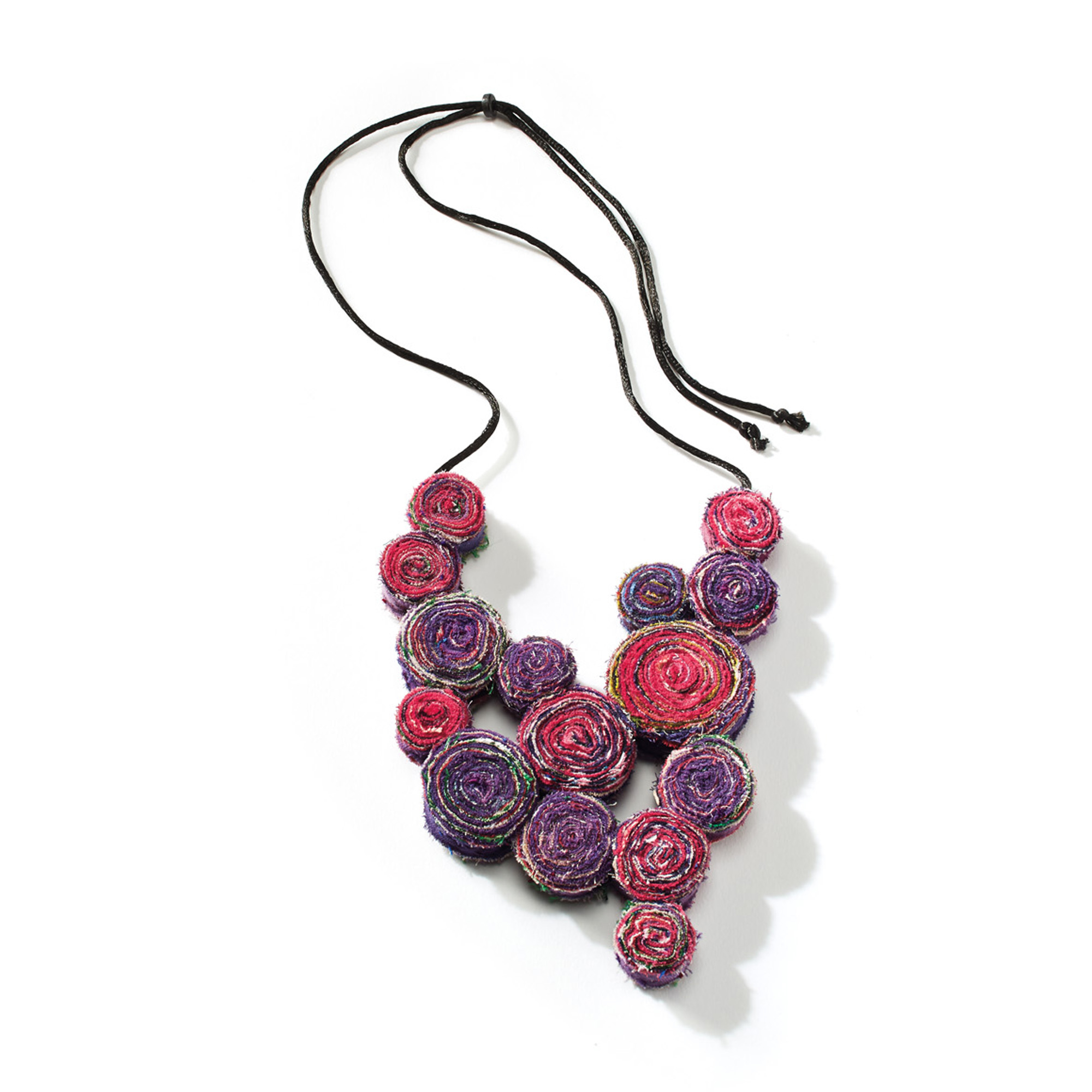 Mieko Mintz Kantha Bib Necklace