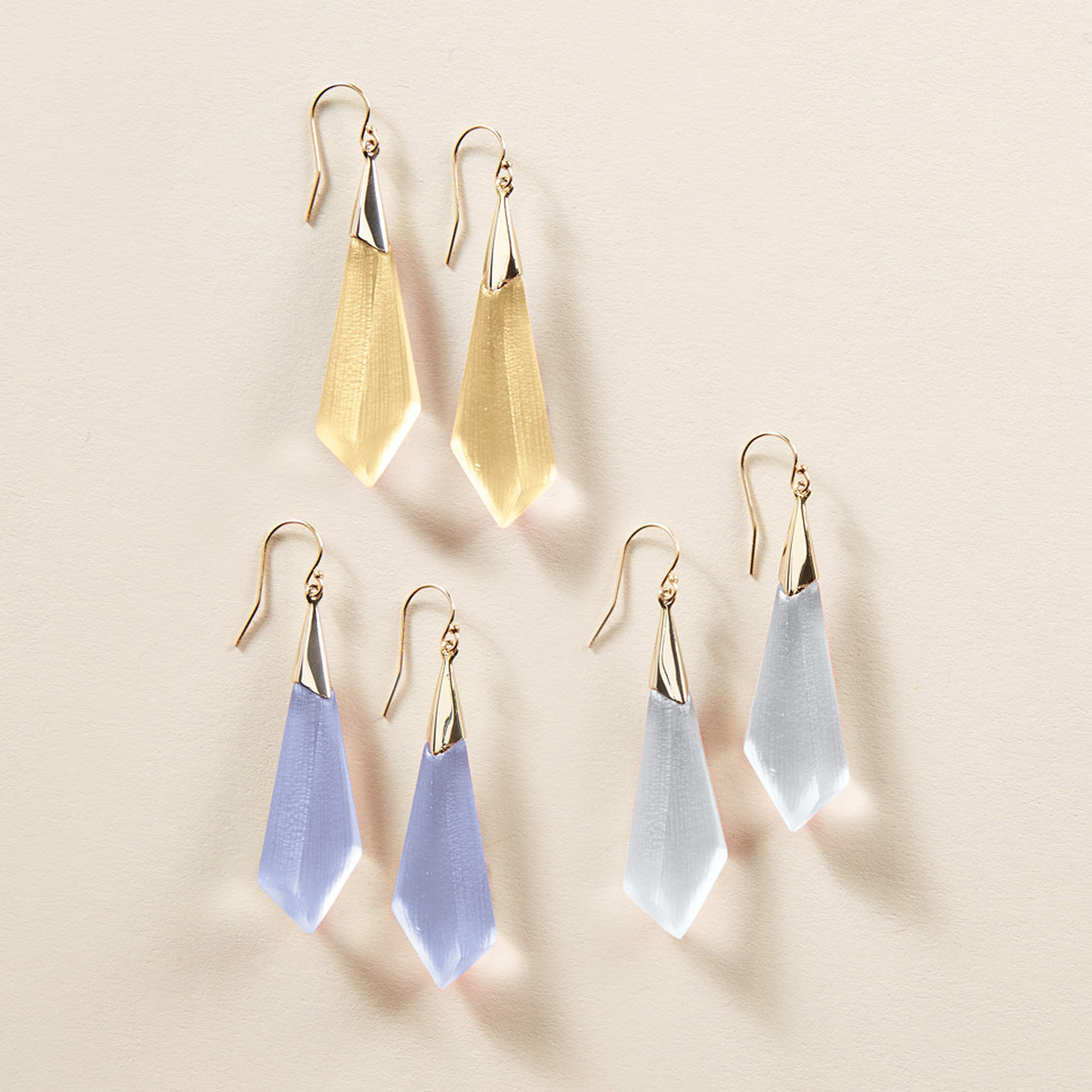 Alexis Bittar Faceted Earrings