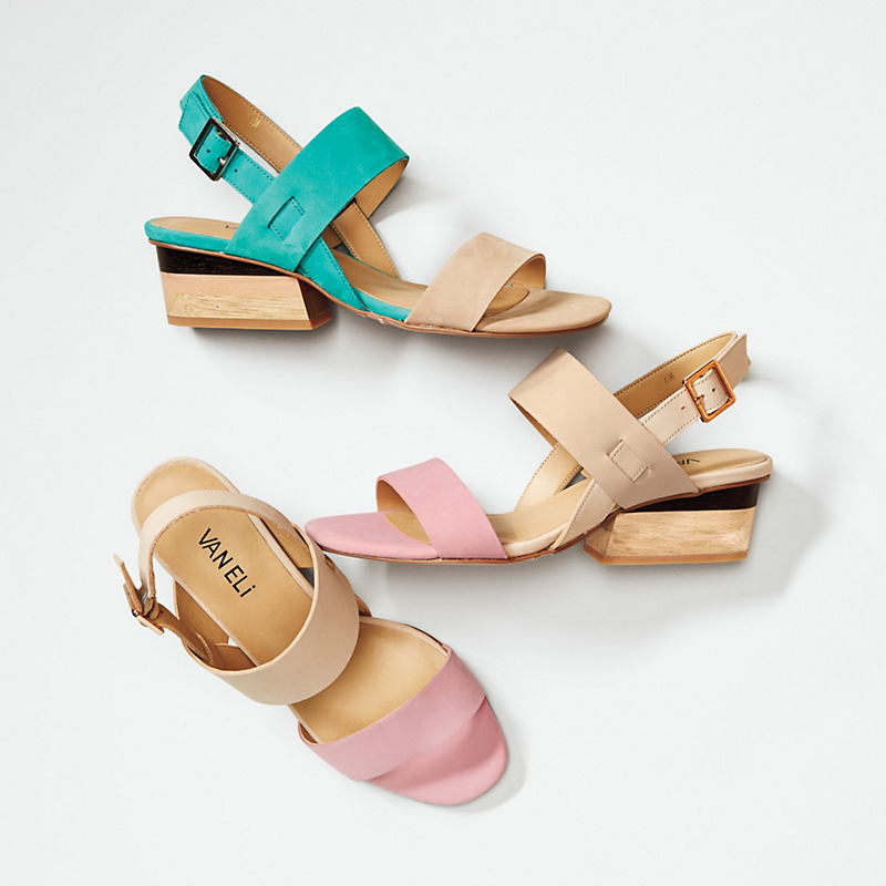 Vaneli Colorblock Sandals