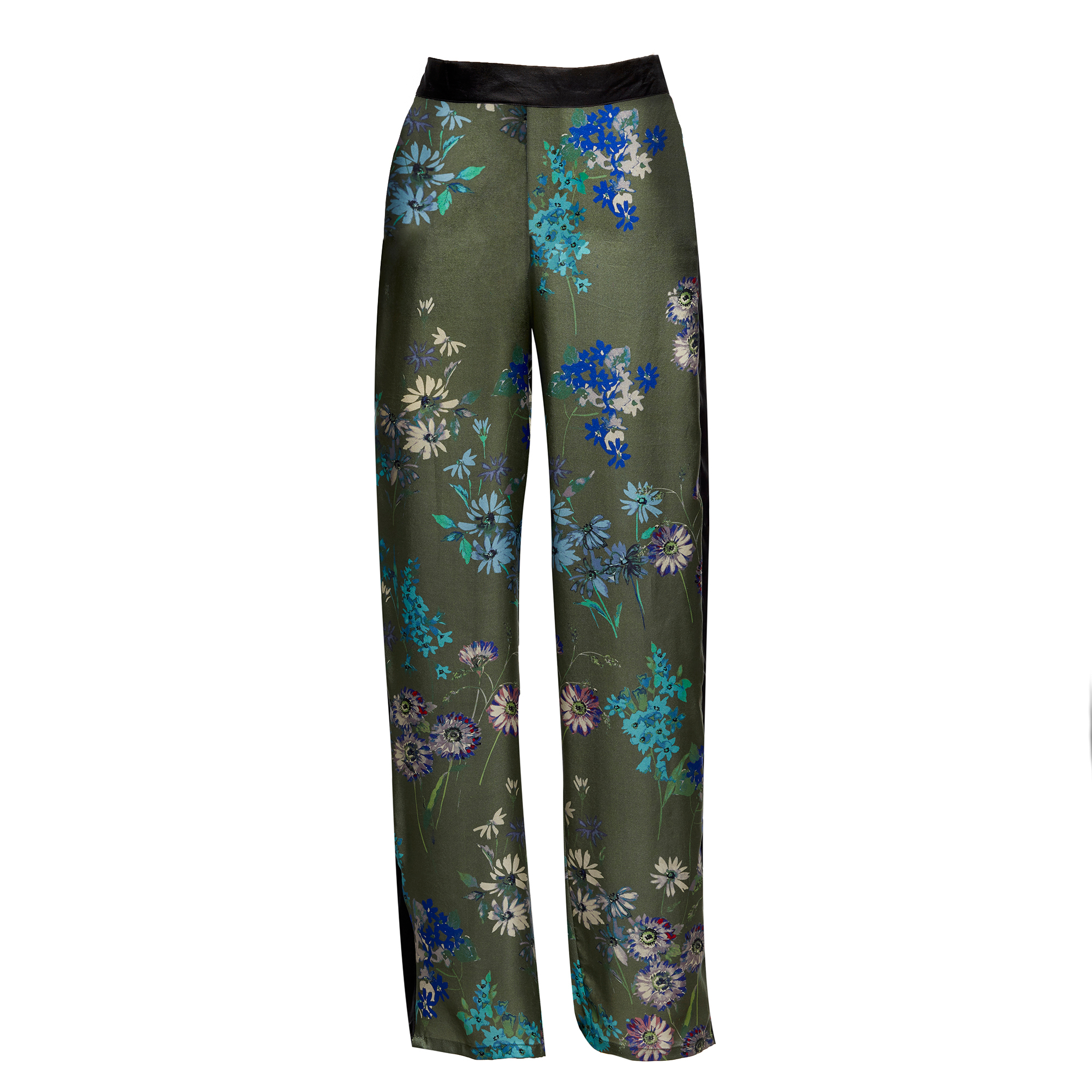 Silk Lounge Pants