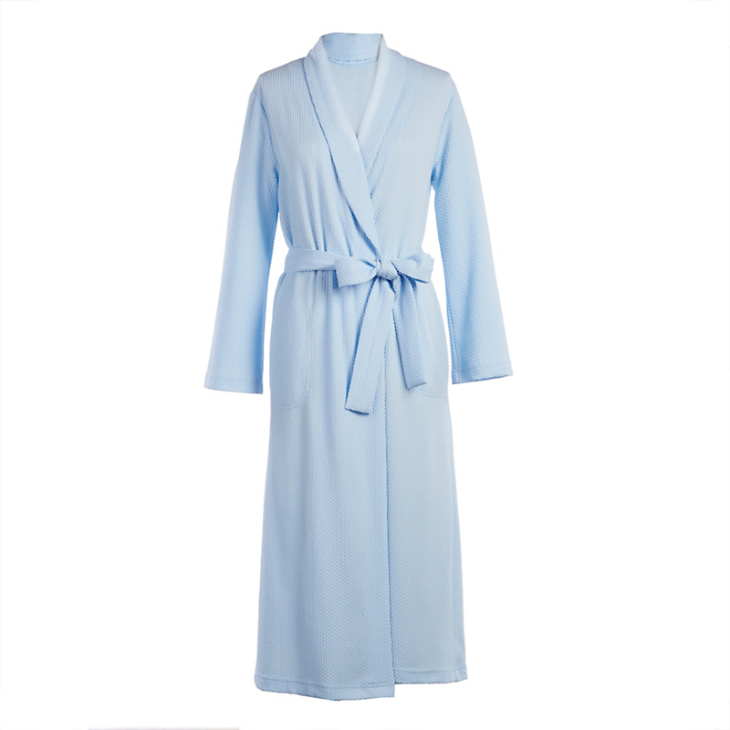 Textured Collared Robe