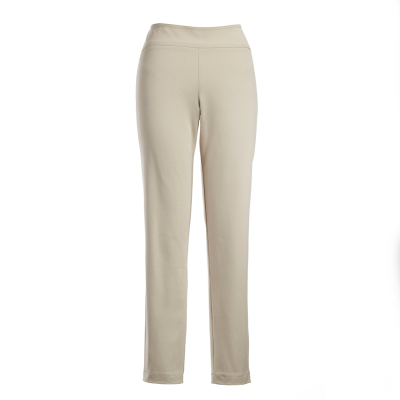 Stretch Twill Ankle Pants, Solid