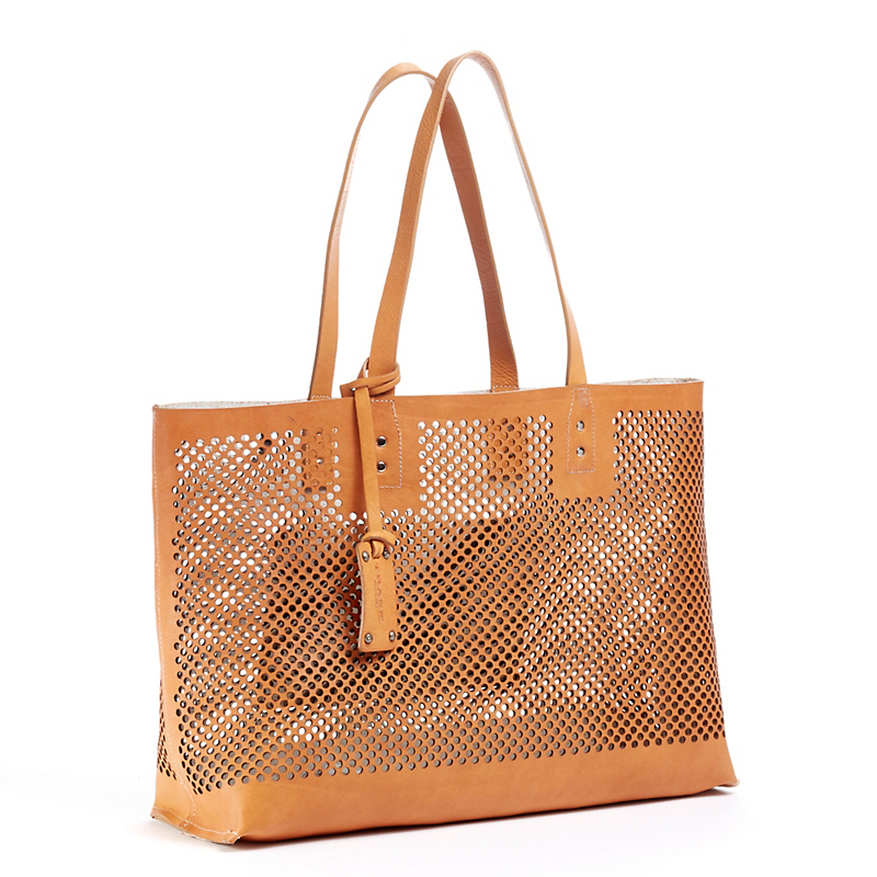 Trask Reversible Leather Tote