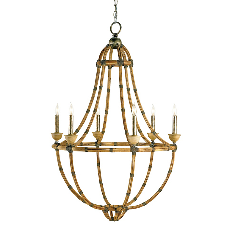 Currey & Company Palm Beach Chandelier