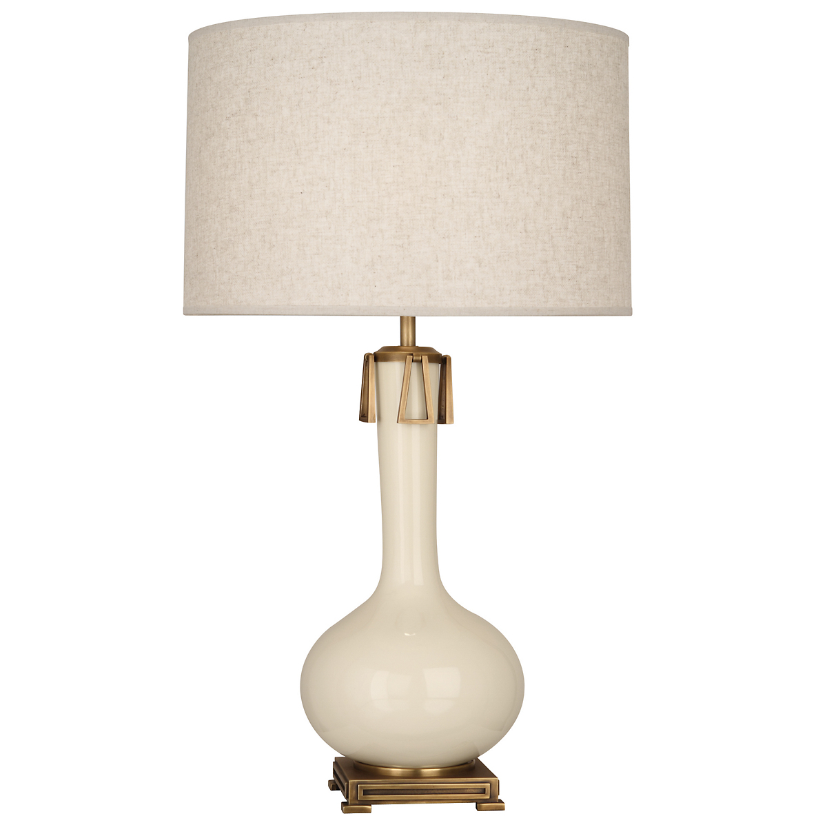 Athena Table Lamp, Bone