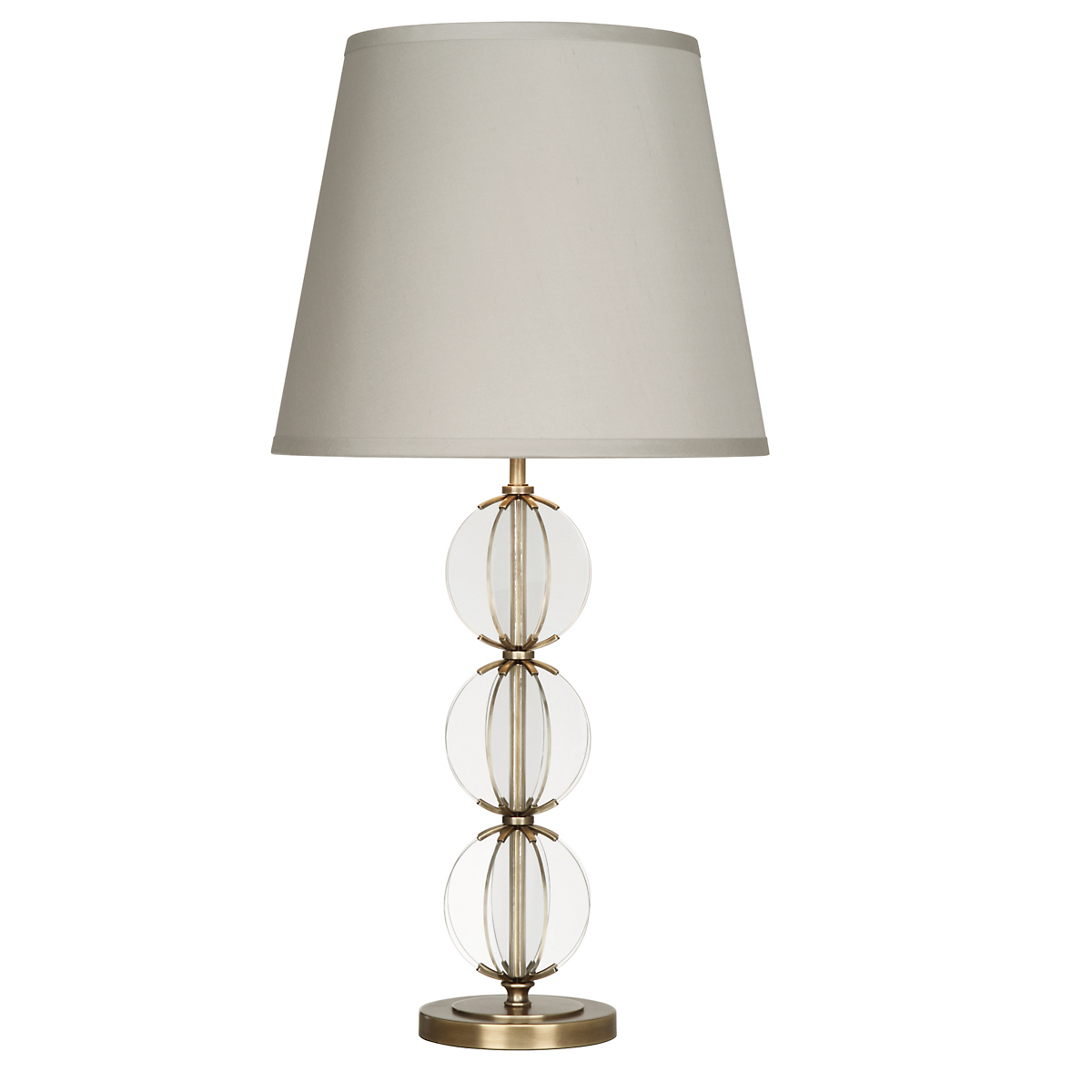 Latitude Table Lamp, Brass