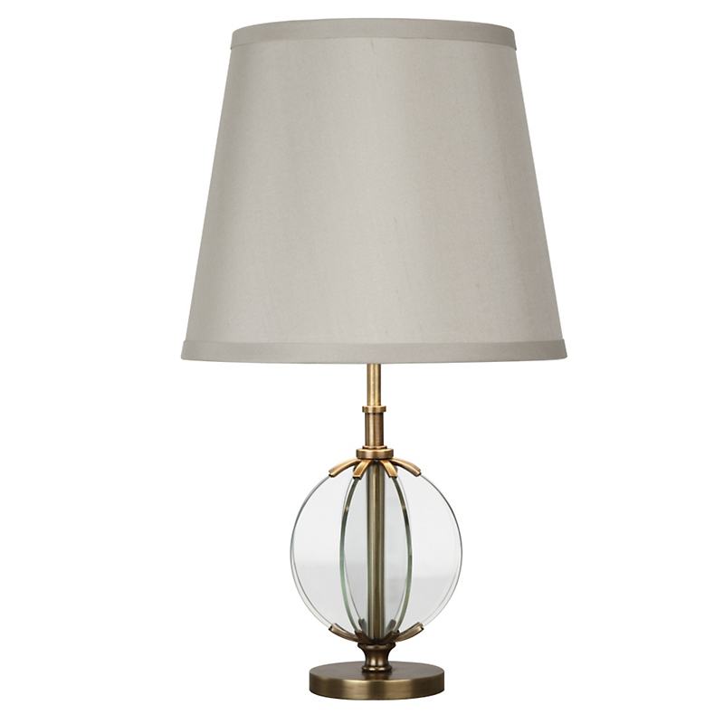 Latitude Accent Table Lamp, Brass