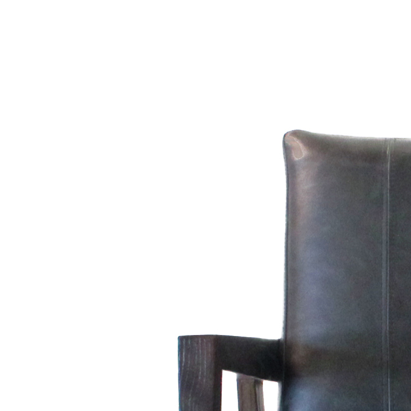 Maria Yee Papyrus Lounge Leather Chair