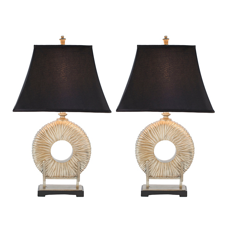 Gabriella Circle Lamp, Set of 2