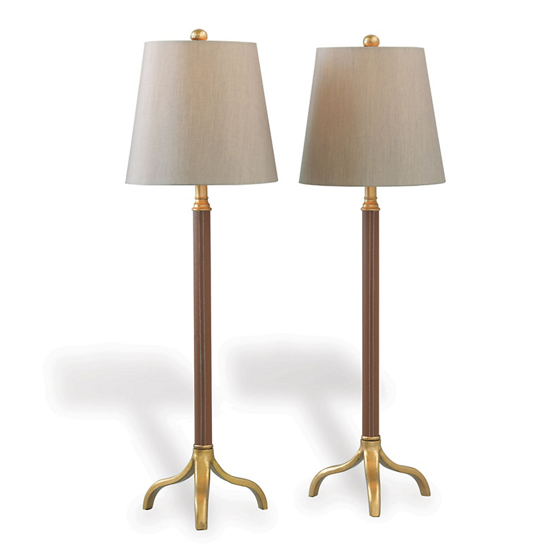 Portobello Buffet Lamps, Set of 2