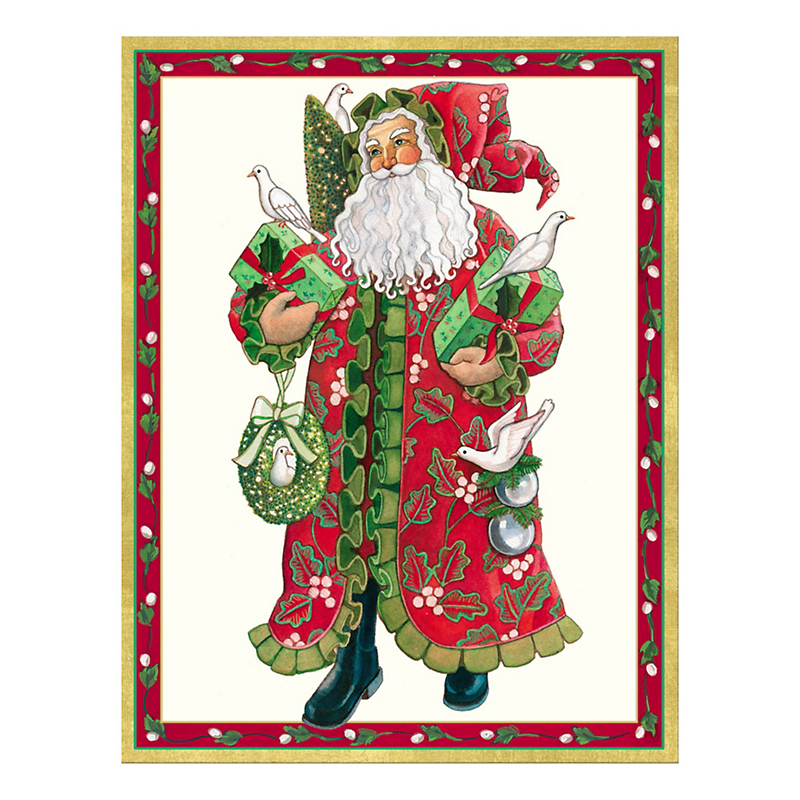 Caspari Holiday Tidings Cards
