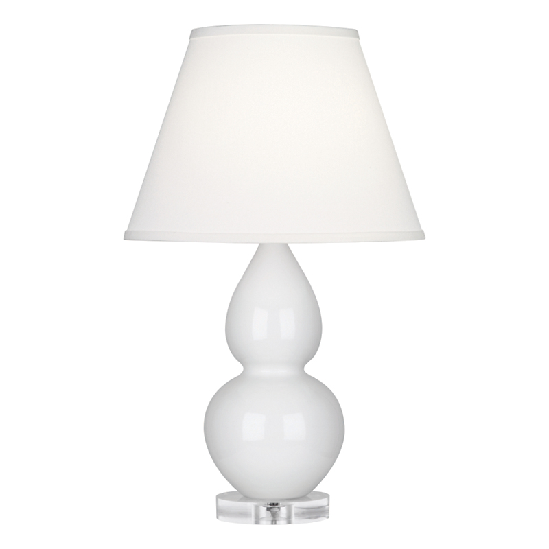 Small Double Gourd Lamp, White