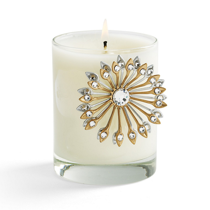 Double Sunburst Candle