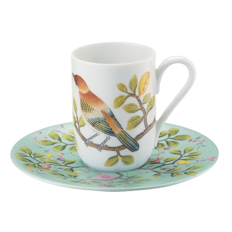Raynaud Paradis Expresso Saucer, Turquoise