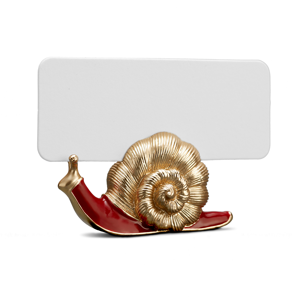 L'Objet Snail Placecard Holders, Set of 6