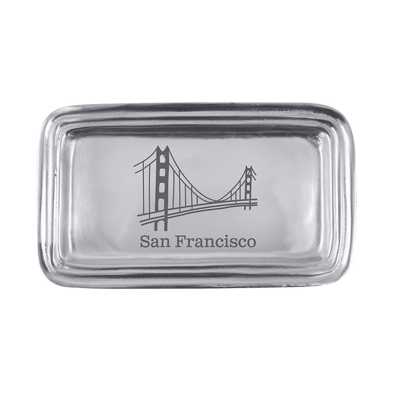 Mariposa Golden Gate Bridge Trinket Tray