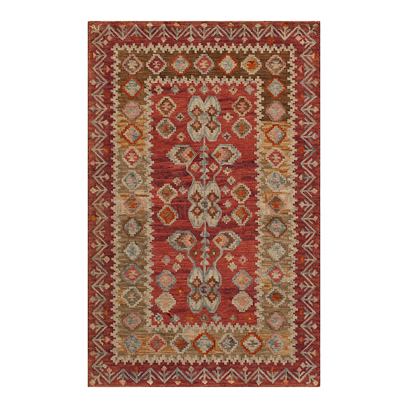 Tahoe Wool Rug, Red