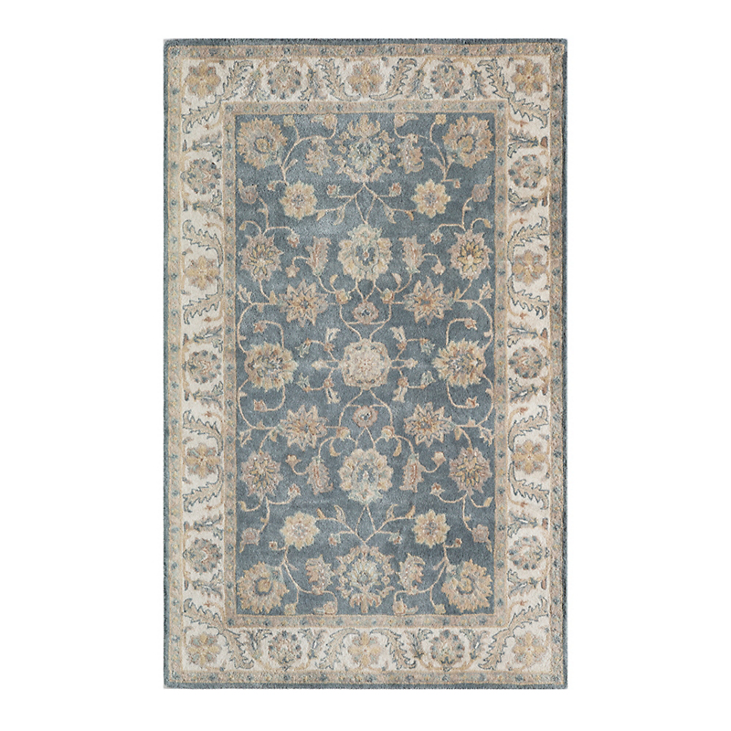Royalty Wool Rug, Blue