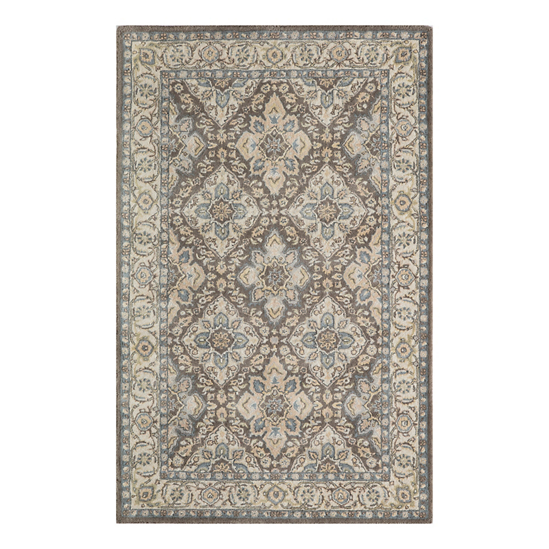 Manor Wool Rug, Gray