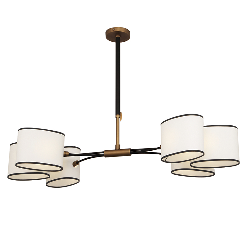 Robert Abbey Axis 6-Light Chandelier