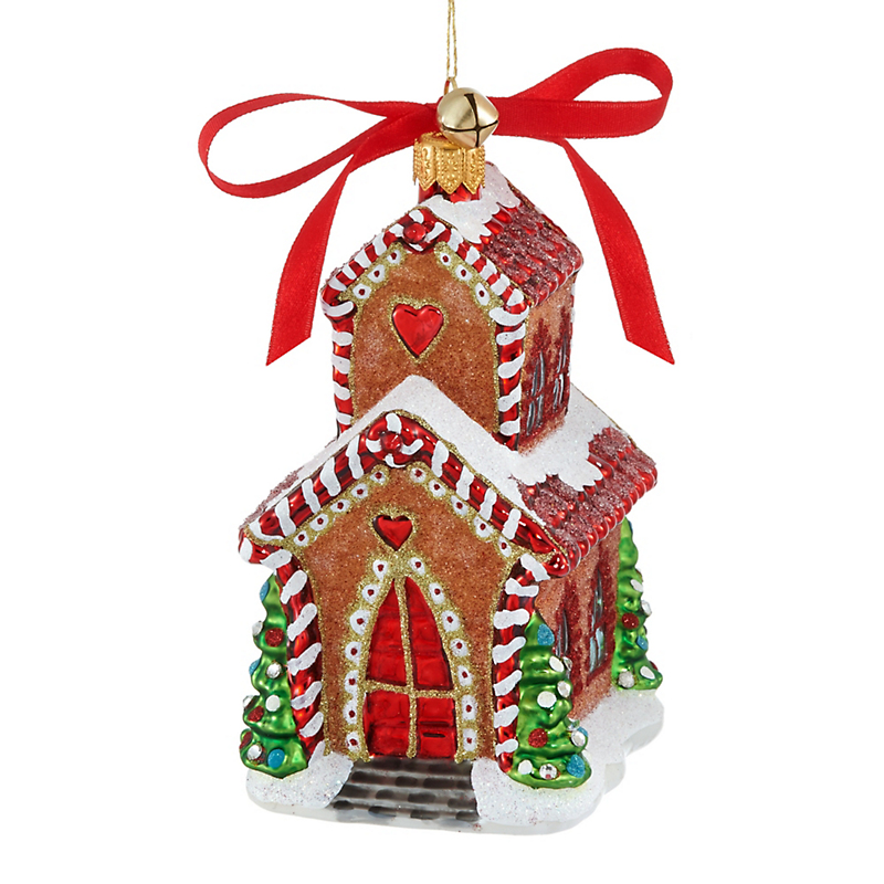 Jinglenog Jingle Chapel Christmas Ornament