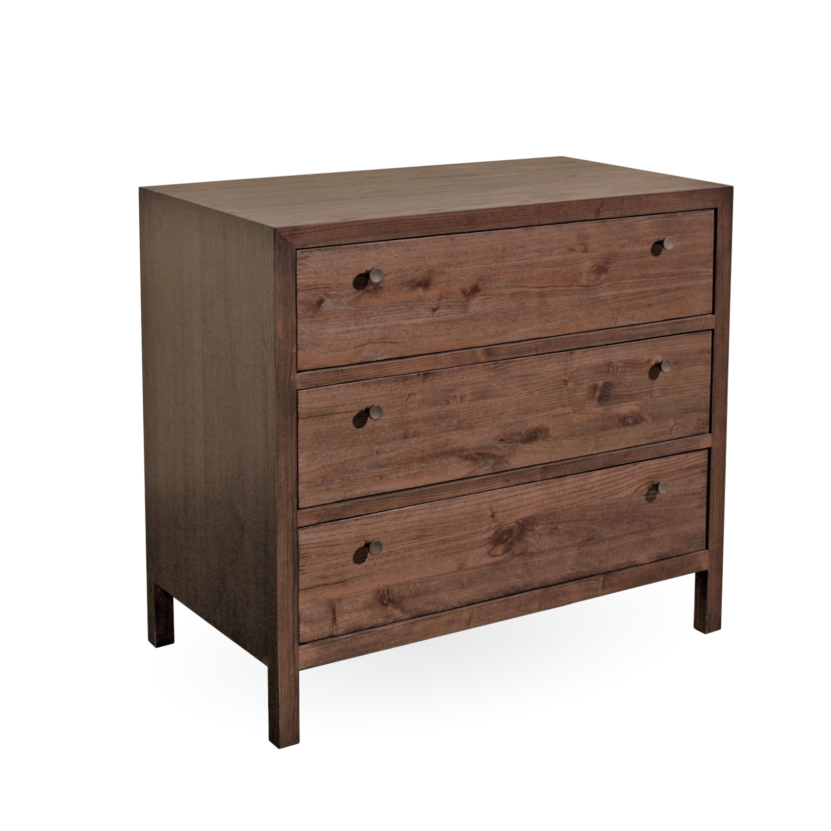 "Maria Yee Aldus 36"" 3-Drawer Elm Chest"