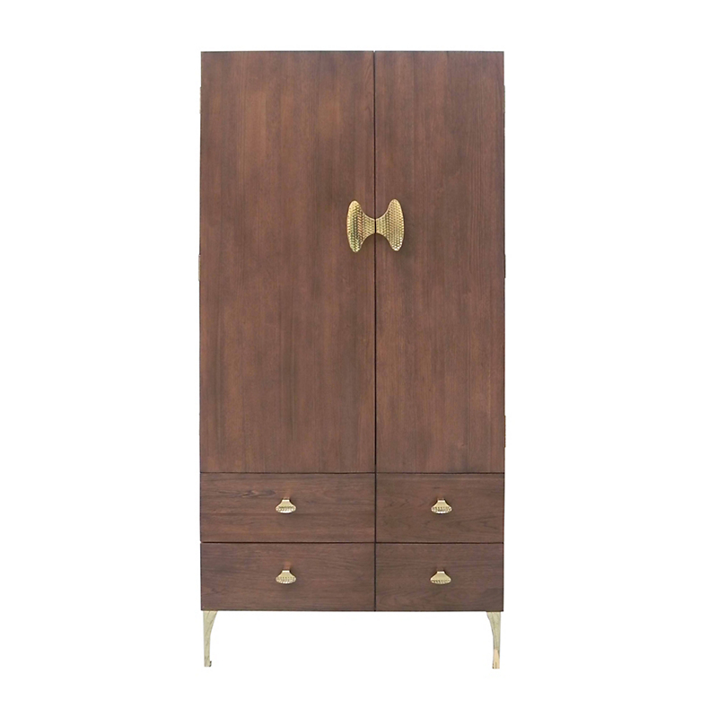 "Maria Yee Hattori 38"" Right Armoire, Pumpernickel"