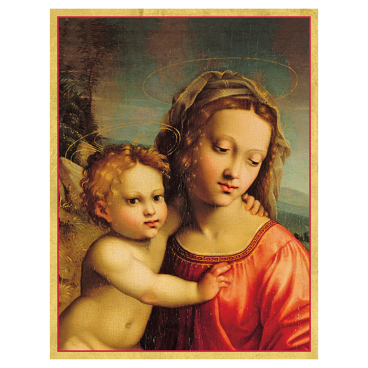 Caspari Madonna And Child Cards, Set of 16