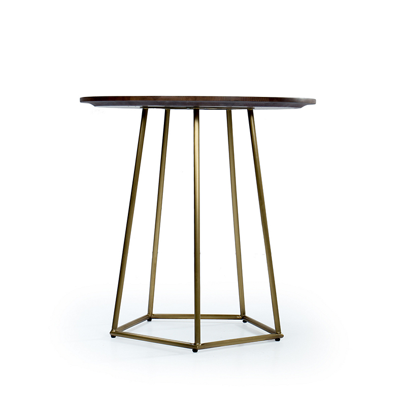 Maria Yee Navarro End Table, Shiitake Finish