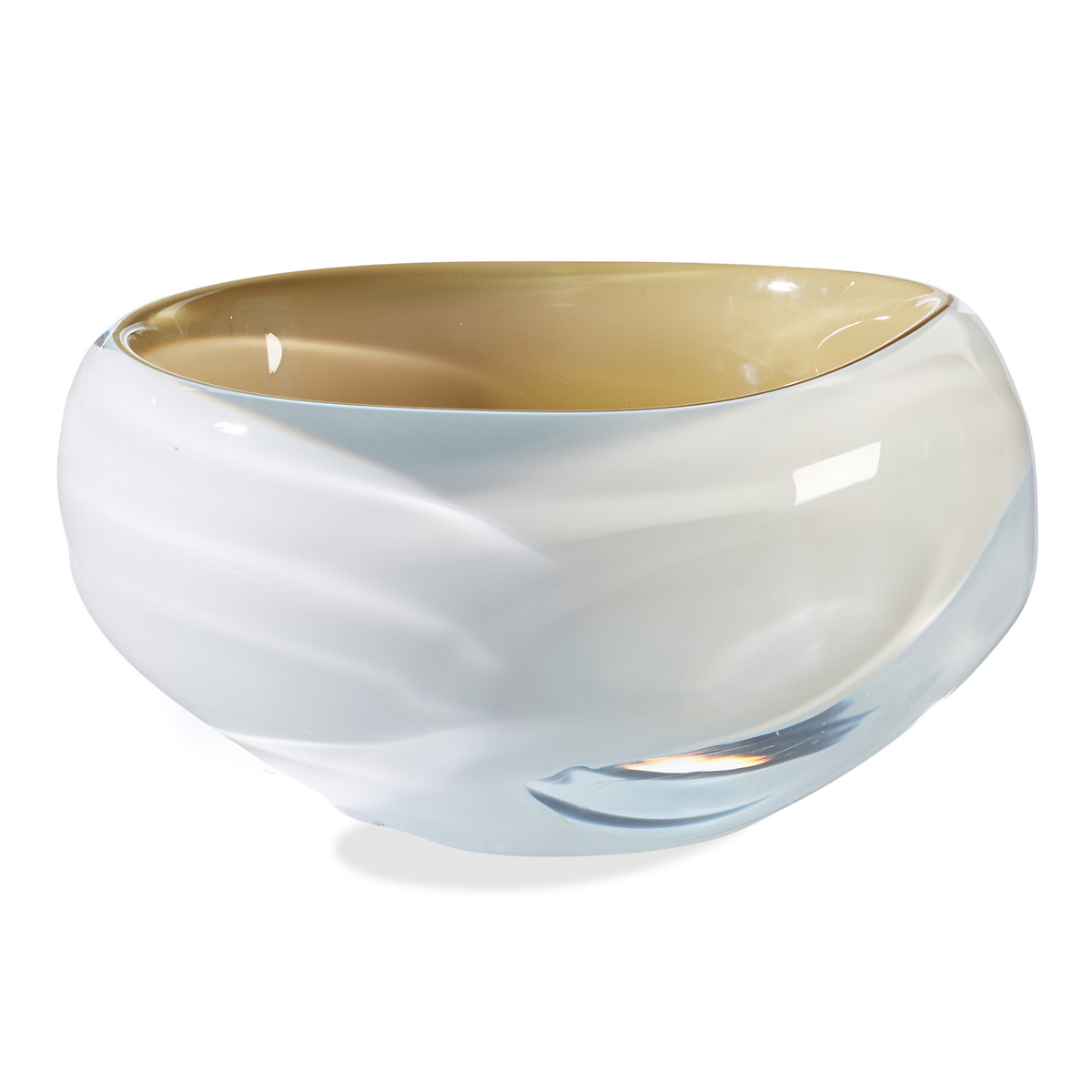 Sklo Sway Glass Bowl