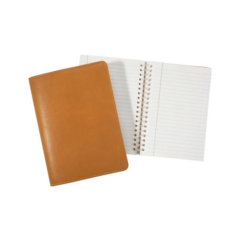 Graphic Image Refillable Journal, British Tan