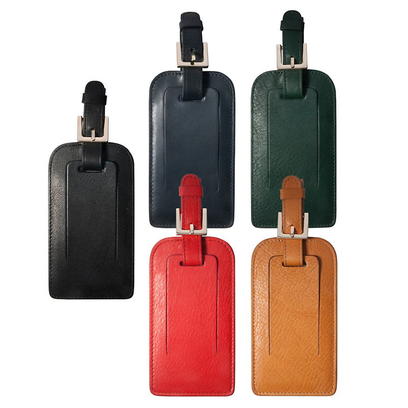 Classic Leather Luggage Tag