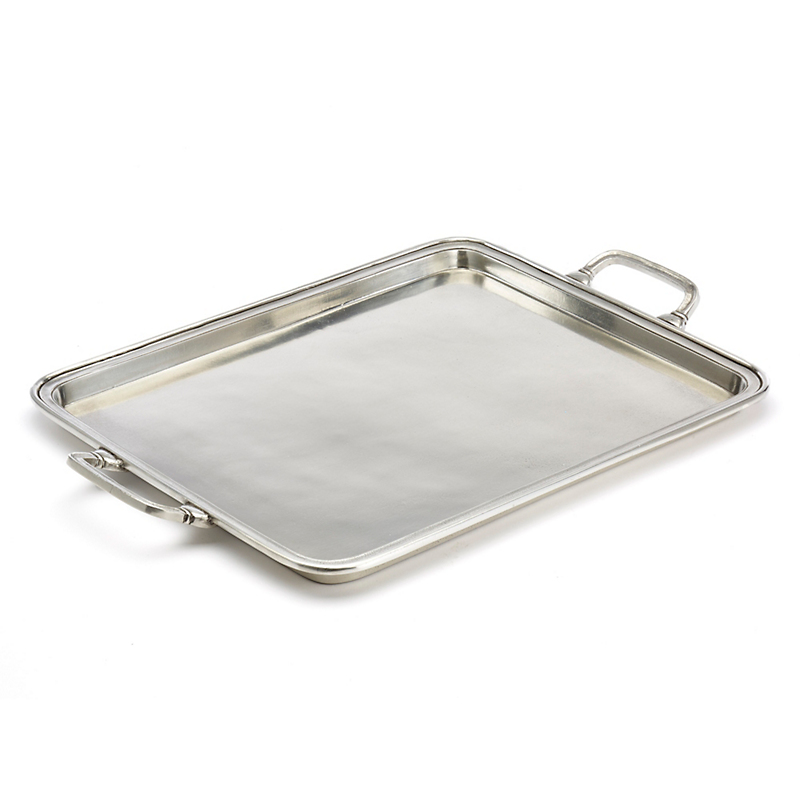 Match Rectangular Trays with Handles