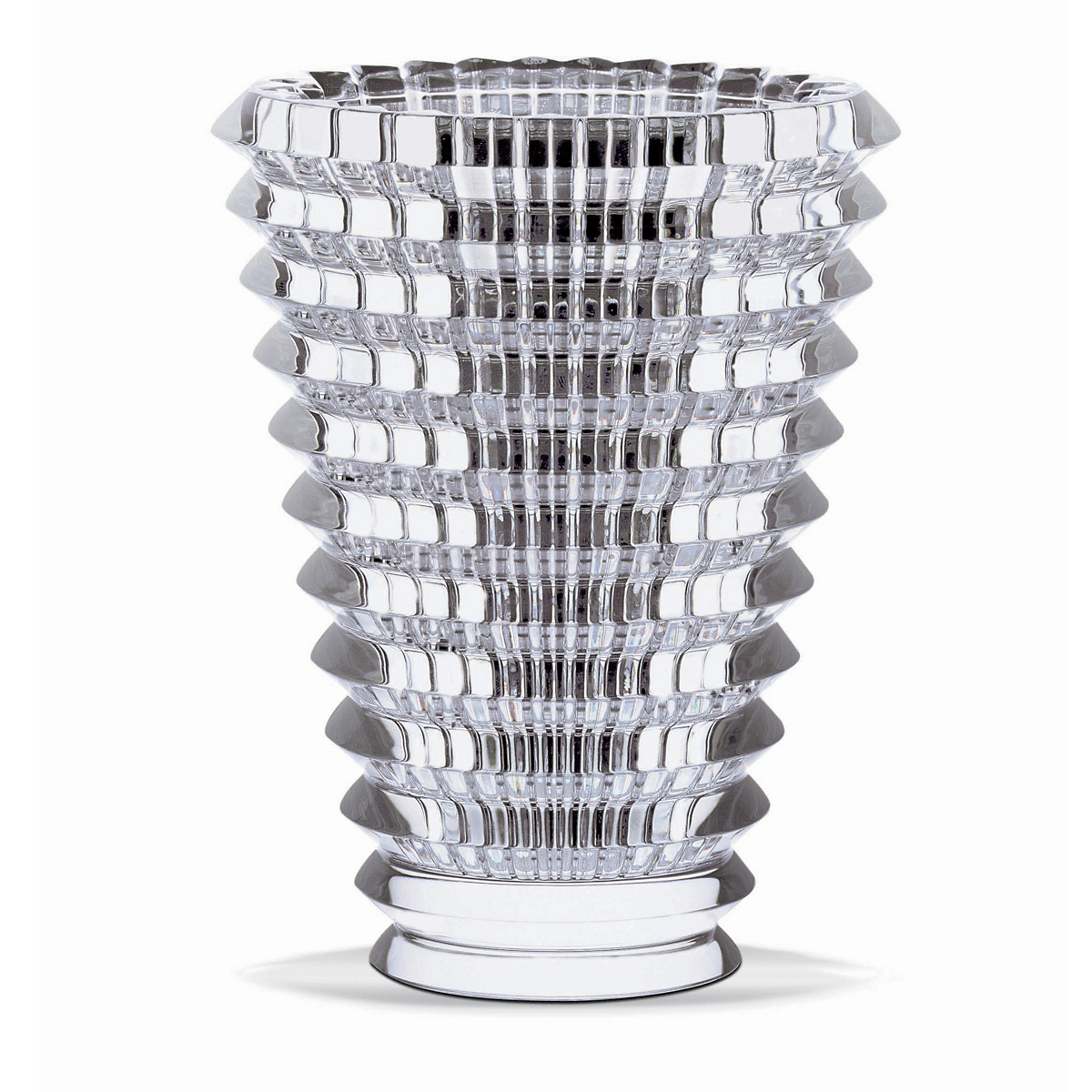 Baccarat Round Eye Vases, Clear