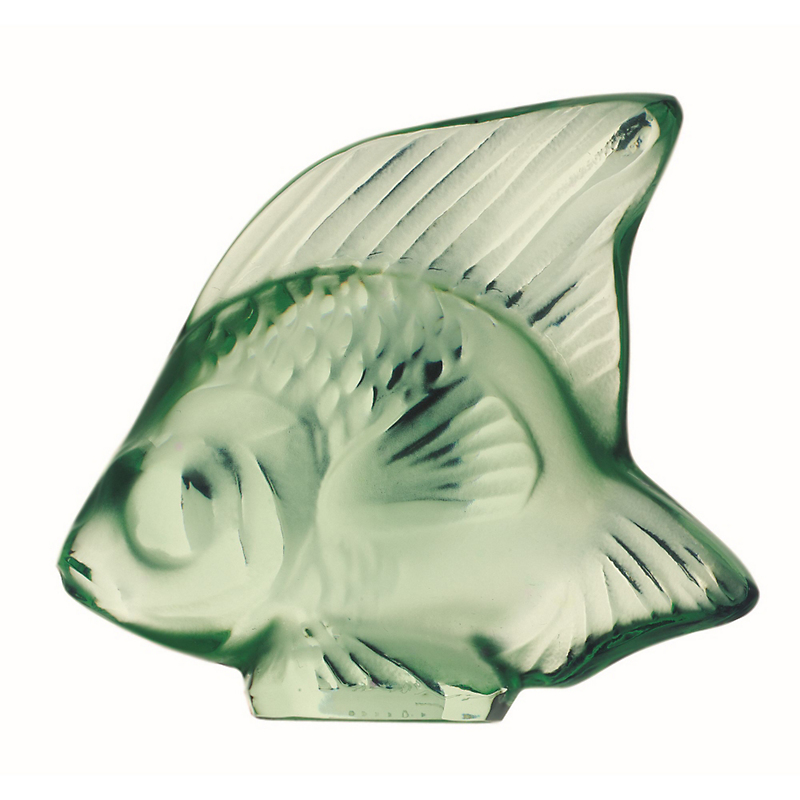 Lalique Fish, Light Green