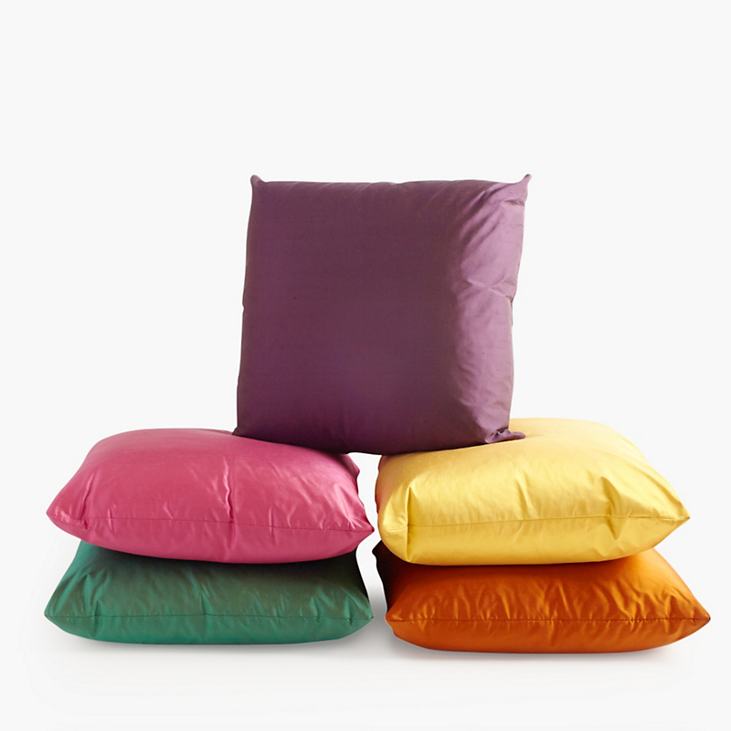 Dupioni Solid Pillows