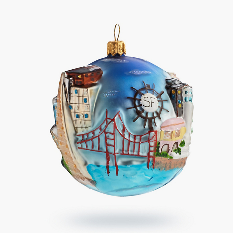 San Francisco Globe Ornament