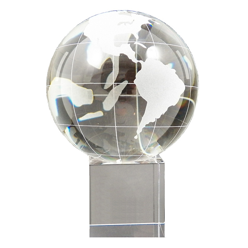 Glass Globe On Base