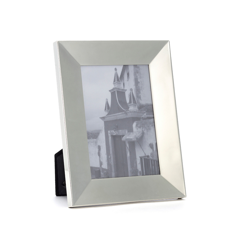 Polished Silverplate Frame, 5x7