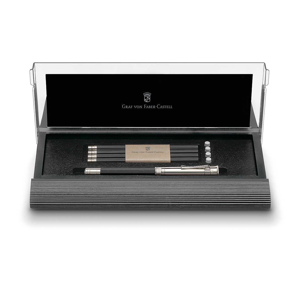 Faber-Castell Perfect Pencil Desk Set, Black