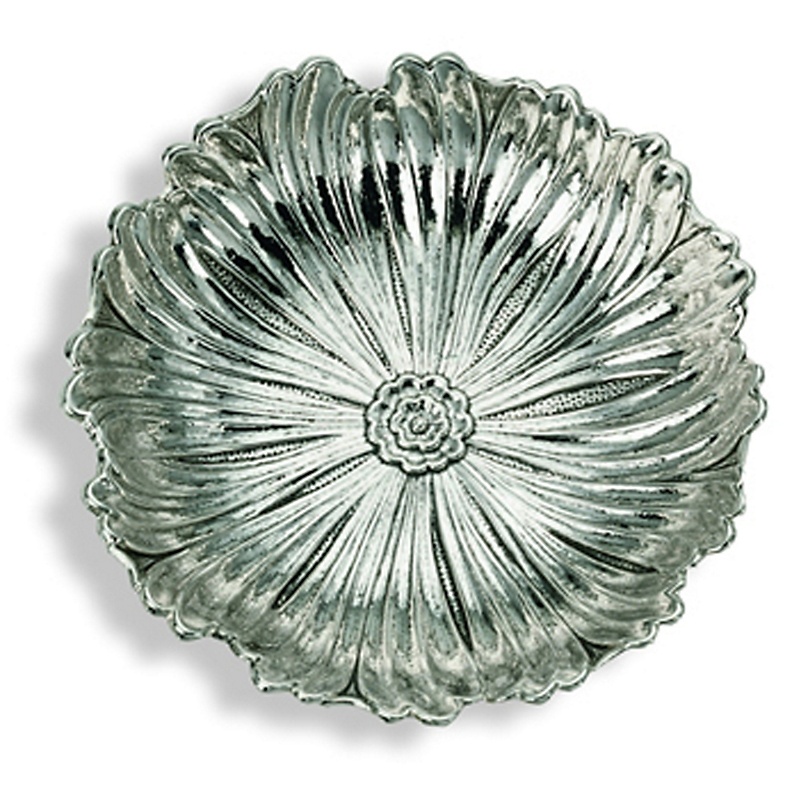 Buccellati Small Sterling Silver Lotus Dish