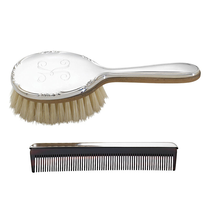 Reed & Barton Georgia Brush & Comb Set