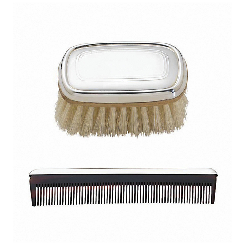 Reed & Barton Kent Brush & Comb Set