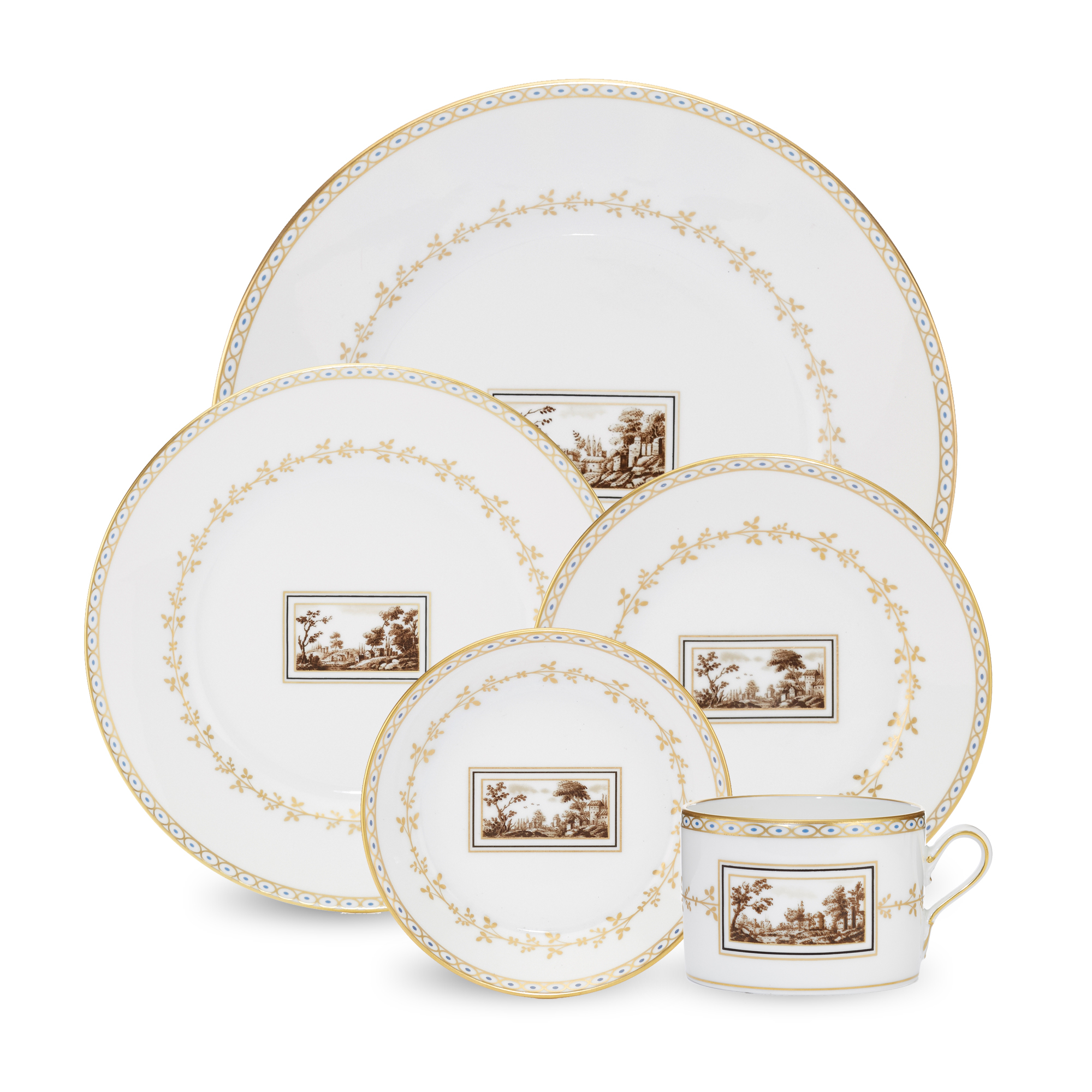 Richard Ginori Fiesole Dinnerware