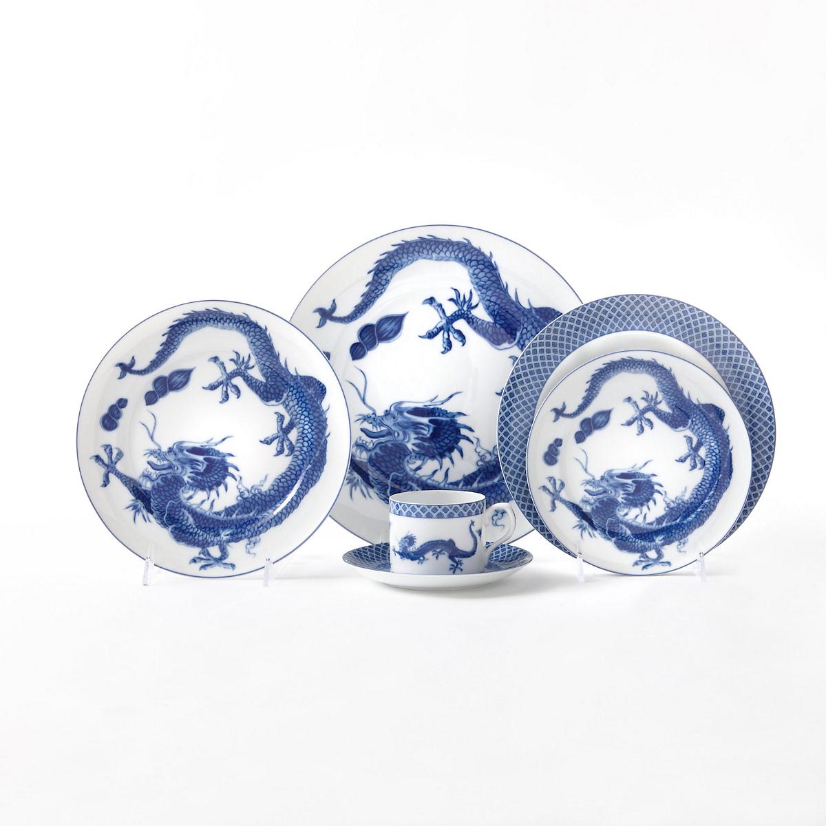 Mottahedeh Dragon Dinnerware Blue  sc 1 st  Gumpu0027s & Mottahedeh Dragon Dinnerware Blue | Gumpu0027s