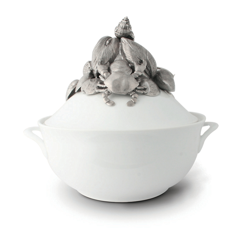 Vagabond House Seafood Bisque Soup Tureen
