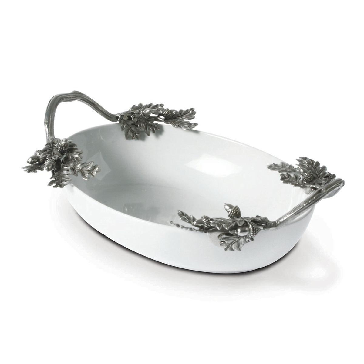Vagabond House Oak Leaf Dish